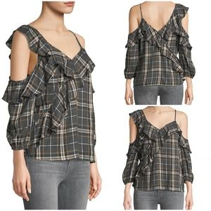 Bailey 44 Cross Country Plaid Shirt Small NWT